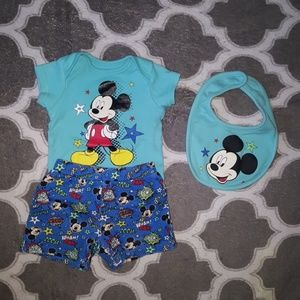 Infant Baby Boy Disney LOT Of 3 Size 0-3 Months